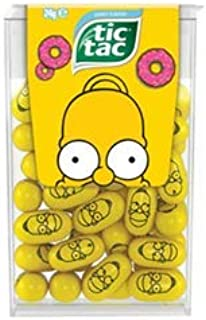 Homer Simpson Limited Edition Donut Flavor Tic Tac 1 oz