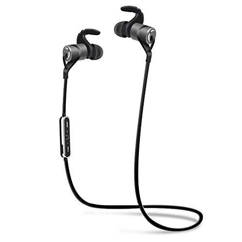 Bluetooth-Kopfhörer, kabellos, 5.0, HD-Stereo-Bass/schweißfest, mit Geräuschunterdrückung, magnetisches Design, In-Ear-Kopfhörer mit Mikrofon, für Lenovo K320t
