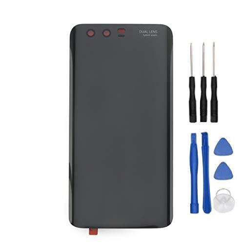 HYYT Smartphone Akkufachdeckel, Batterieabdeckung, Rückseite, Back-Cover für Huawei Honor 9 (Schwarz)