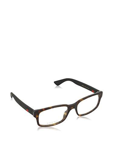 Gucci Gestell 0012O_002 (54 mm) havanna/schwarz