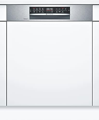 Bosch SMI6ZDS49E Serie 6 Lavavajillas parcialmente integrable, A++, 60 cm, acero inoxidable, 234 kWh/año, 13 MGD,...