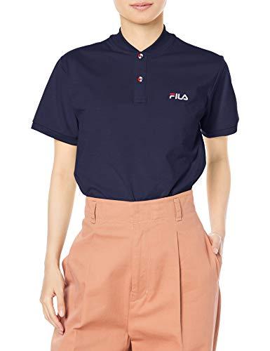 [フィラ] Tシャツ 形状記憶糸リブTシャツ レディース NV L