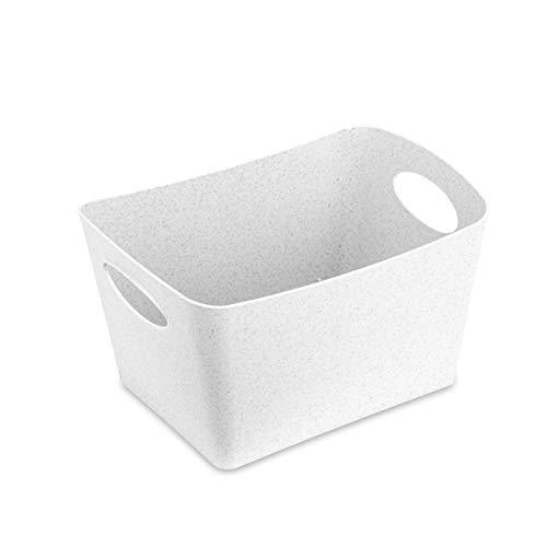 Koziol 5745690 BOXXX S, Organic White, 128 x 187 x 108 mm