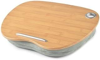 膝上テーブル テーブルクッション ノートパソコン 天然竹製 タブレット用 ラップトップテーブル ひざ上テーブル