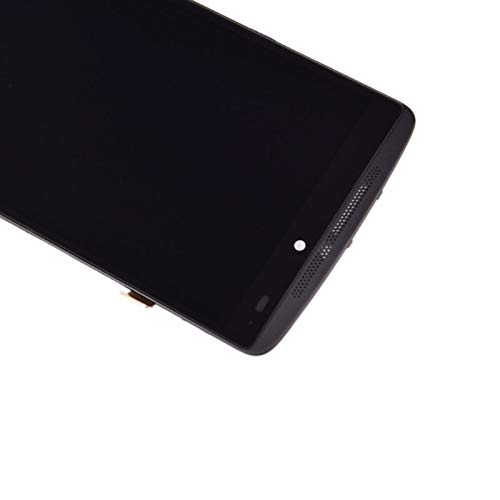 Mobile Phone Lcd Screens LCD Display Vibe K4 Note LCD Screen Touch Screen Panel Digitizer Assembly With Frame Lcdd/Fit For Lenovo K4 Note A7010 (Color : Black with frame)