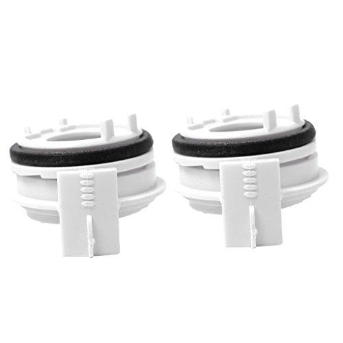 H7 Hochleistungs-Lampenfassungs-Adapter für BMW E46 3er-Serie, Weiß, 2 Stück