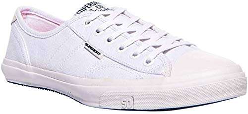 Superdry Damen Low PRO Sneaker, Weiß (Optic White 26C), 38 EU