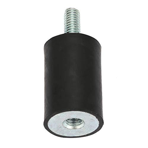 Estabilidad Antivibración Bobina Montaje de goma Reducción de golpes Diseño geométrico simple Reducción de ruido Aisladores de vibración para motores de(VD20*30 M6*18)