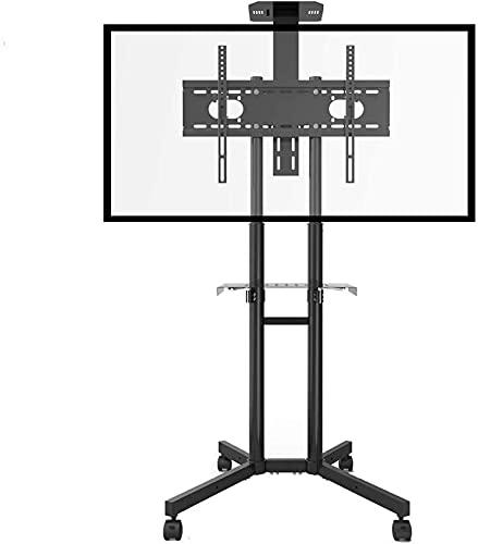 CCAN Soporte de Pared para Soporte de TV Carrito de TV rodante para televisores de Plasma/LCD/LED OLED de 32'/ 49' / 55'/ 60' / 65'Soporte para Salas de conferencias/Hoteles/Bares /