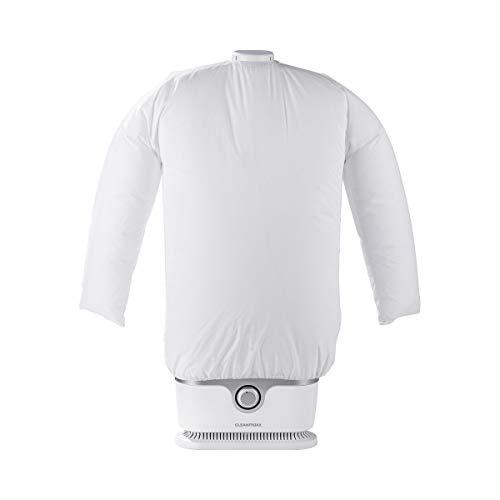 CLEANmaxx Automatischer Hemden-Bügler zum Trocknen und Glätten von Hemden & Blusen | Die innovative und schonende Art, Ihre Wäsche zu glätten