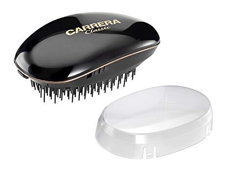 CARRERA Classic Ionen-Bürste | Entwirrbürste | zuschaltbare Ionenfunktion für geschmeidiges und glänzendes Haar, hilft gegen statische Aufladung