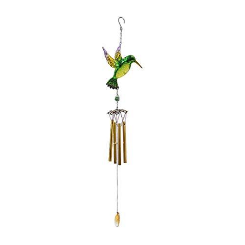 R-WEICHONG Windspiele Nach Hause Hängendes Dekor Kolibri-Ornamente Äolische Glocke Für Garten