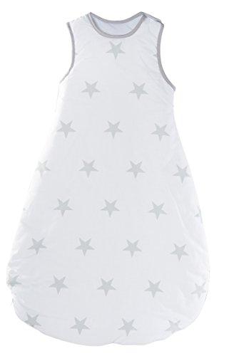 roba Schlafsack, 90cm, Babyschlafsack ganzjahres/ganzjährig, aus atmungsaktiver Baumwolle, Baby- und Kleinkinderschlafsack unisex, Kollektion 'Glücksengel'