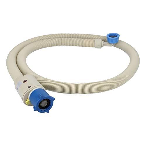 Euronova 017314 ORIGINAL Zulaufschlauch Aquastopschlauch Schlauch 1,5m 90°C Warmwasser für Waschmaschine auch wie Eudora Eumenia Goldkind