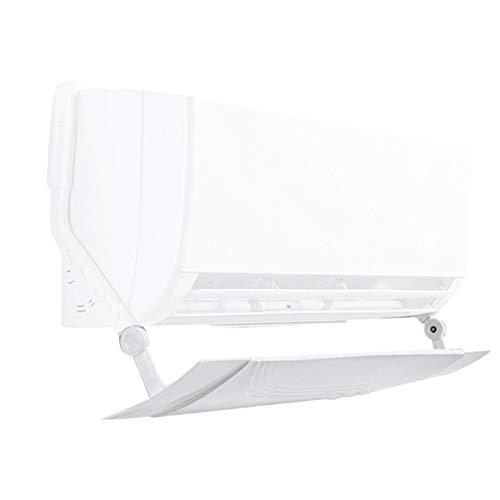 Euopat Deflettore del deflettore del Vento del condizionatore d Aria, Scudo del condizionatore d Aria del Retrattile del soffiaggio di Anti Diretto