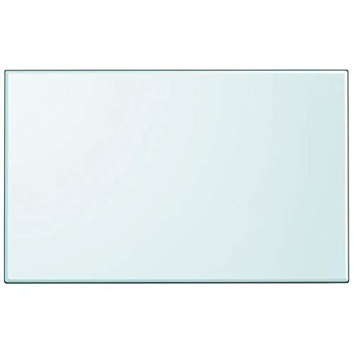 FAMIROSA Tablero de Mesa de Cristal Templado Cuadrado 1000x620 mm-3633