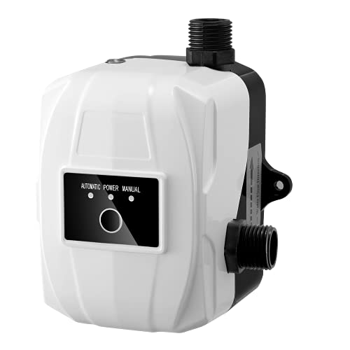 Water Booster Pump 40PSI, 8.7GPM Silence Automatic Water Pressure...