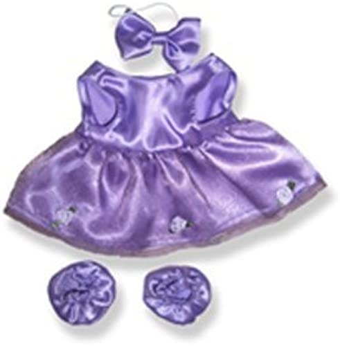 lila Ballerina 8 inch - 1035 Fits 8  - 10  bears, includes Build a Bear, The Bear Mill, and Stuff your own Animals. by The Bear Mill