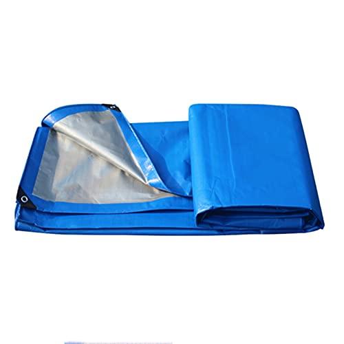XUEXIU Lona Impermeable Al Aire Libre Protector Solar De Plástico De Plástico De Tela De Tapa De La Lona, fácil De Plegar A Prueba De Polvo (Size : 4x5m)