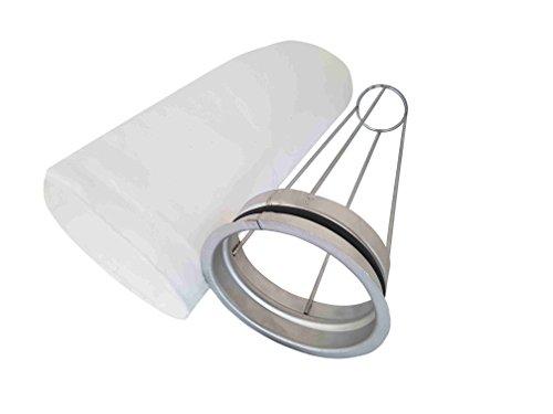 Intelmann Filterkorb für 2-teiligen Ansaugturm mit Kegelfilter Ø 160, L=300mm, V2A, passend für KG-Rohr Ø 150/160