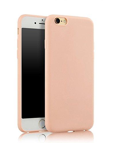 Demarkt Carcasa para iPhone 7 Plus de silicona TPU rosa