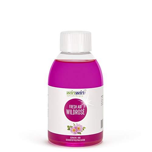 winwin clean Systemische Reinigung - Fresh AIR LUFTREINIGUNGS-Konzentrat WILDROSE 250ML