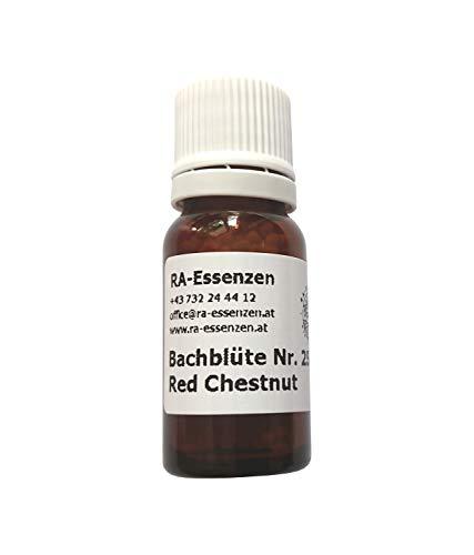 Bachblüte Nr. 25 Red Chestnut, 10g Bio-Globuli, radionisch informiert - in Apothekenqualität