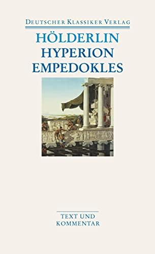 Hyperion/Empedokles: Aufsätze / Übersetzungen (DKV Taschenbuch)