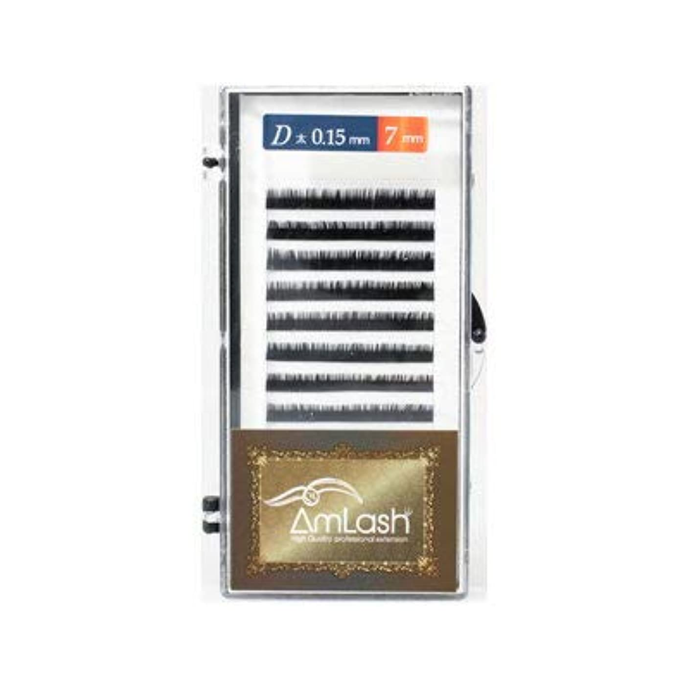 部分的にアンドリューハリディ食堂Amlash(アムラッシュ)ハイクオリティエクステ Dカール 0.15mm×7mm