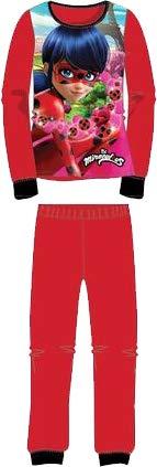 Pijama de Invierno Ladybug (Coralina) Rojo