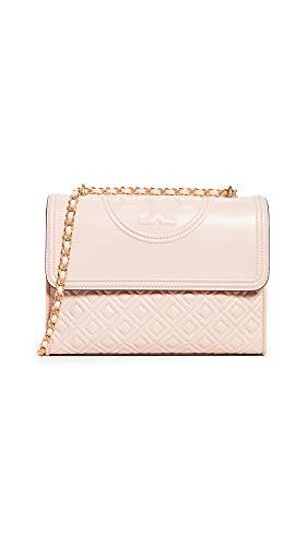 Tory Burch Women's Fleming Convertible Shoulder Bag, Shell Pink, One Size