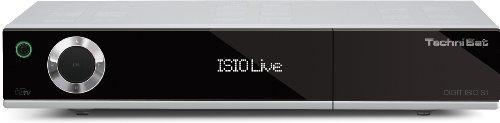 TechniSat Digit ISIO S1 digitaler HDTV Satellitenreceiver (Twin-Tuner, Internetfunktionalität, Ethernet, DVRready, 2x CI+) silber