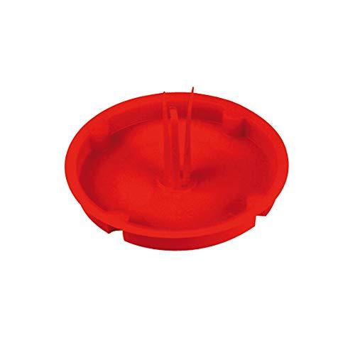 REV 0518633777 Deckel Hohlraumdose, Signaldeckel für Verteilerdose - Abzweigdose Ø 60 mm, rot