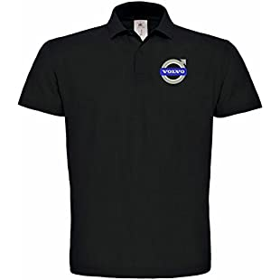 Volvo Truck Saab Embroidered Car Polo T-shirt really premium quality -109 (M)