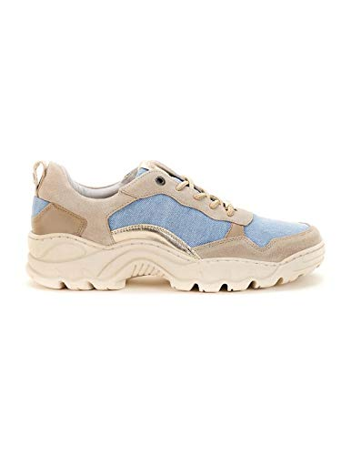 Zapatillas Salsa Milwaukee Denim 39 Beige