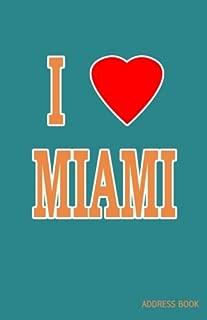 I Love Miami Address Book