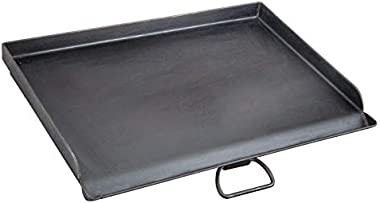 "Camp Chef Professional Flat Top Griddle, True Seasoned Finish steel griddle, 16"" x 24"" Cooking Surface"