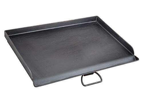Camp Chef Professional Flat Top Griddle, True Seasoned Finish steel griddle, 16' x 24' Cooking Surface