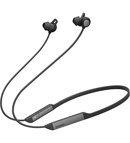 Huawei FreeLace Pro - Auriculares inalámbricos con Cancelación de ruido activa con el innovador Huawei Dual-mic, Bluetooth, 24 Horas de reproducción, Negro