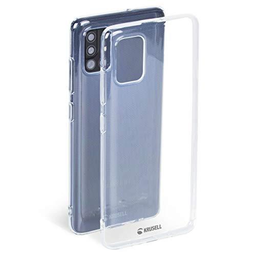 Krusell Hülle geeignet für Samsung Galaxy A51 TPU - SoftCover - Transparent Handyhülle Case Cover Ultra-dünn, leicht und mit Display und Kameraschutz