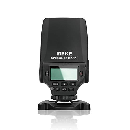 Meike MK320 Speedlite TTL GN32 TTL - Flash para cámara Fujifilm X-T1 X-M1 X100s X100t X30 X-Pro 1 X-a1 X-A2 X-E1 X-E2 S1 SL1000 LED-Assistive Previsión Focus