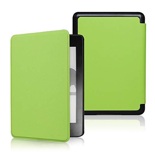 Funda para Kindle (10ª generación 2019, número de modelo J9G29R), 10 colores, funda de piel con función de encendido y apagado automático