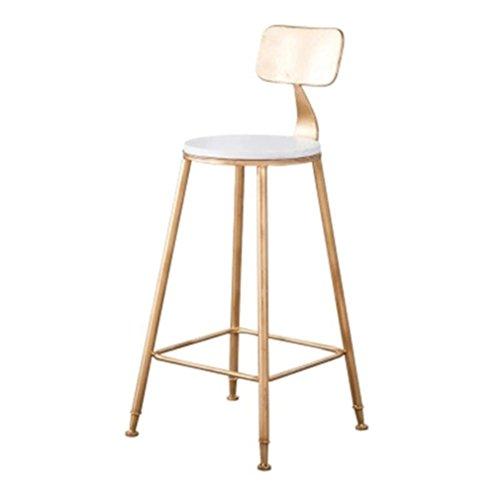 Elegenz-Z Stoel Nordic Iron Bar Home High Bar Café creatieve ring van ijzer metaal persoonlijkheid goud eenvoudig modern vierkant