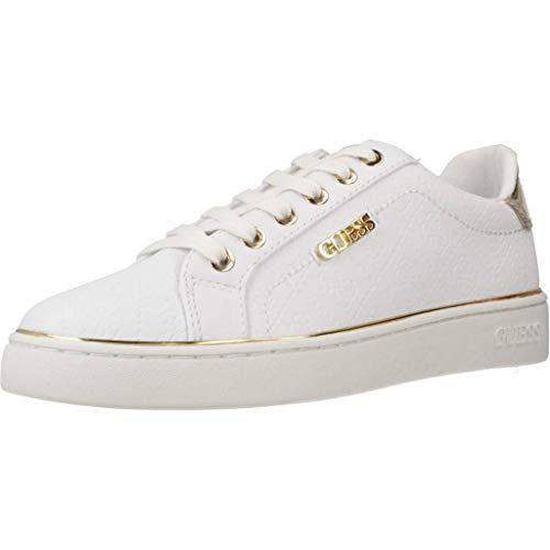 GUESS Beckie Zapatillas Blancas para Mujer-UK 3 / EU 36