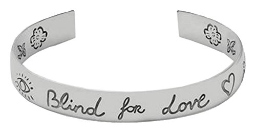 Gucci Damen-Armreif BLIND for Love 925 Silber 18 cm - YBA455242001018