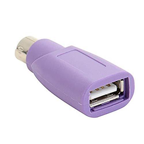 Fanuse Ps2 zu USB Anschluss, Computer Maus und Tastatur Miniadapter, Maus und Tastatur Konverter