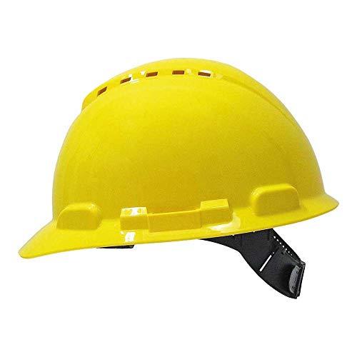 3M H700CGU - H700 Casco con ventilación, amarillo, arnés estándar