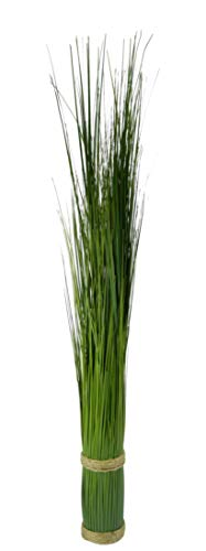 Flair Flower Grasbund, künstliches Grasarrangement, Grasbusch, Grasbüschel, Deko Bündel, Stehgras, Kunstpflanze, Kunstgras, Ziergras, Kunstpflanzen, Dekogras, Grasbündel, Grün, 73 cm