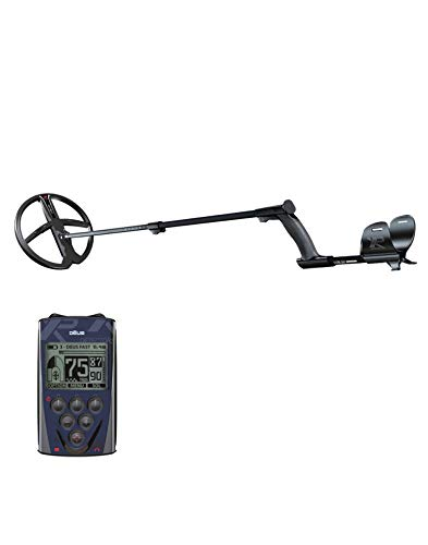 Metalldetektor XP DEUS 28 X35 RC mit Fernbedienung und Scheibe 28 cm X35