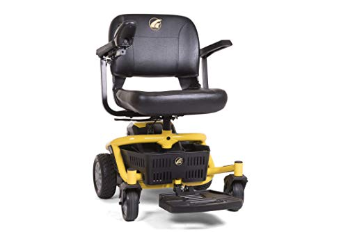 LiteRider Envy Lightweight Electric Power Wheelchair - Compact Mobility Scooter Chair, Disassembles for Travel, GP162 by Golden Technologies